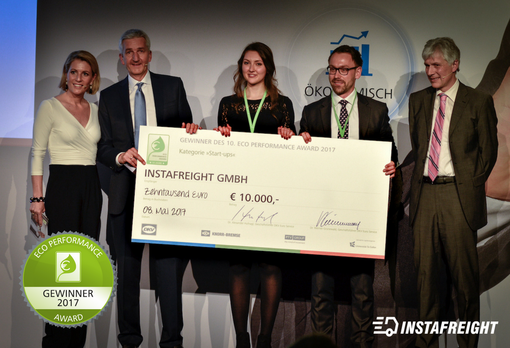 2 - InstaFreight Wins Prestigious Eco-Performance Award